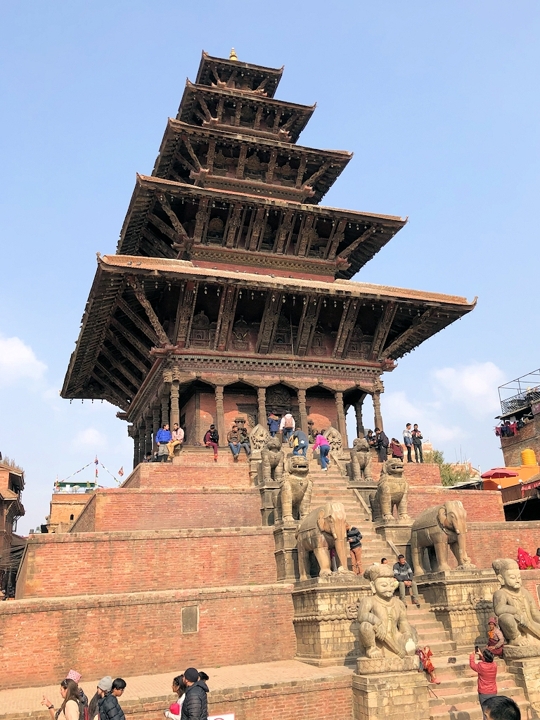 Pagode in der Königsstadt Bhaktapur