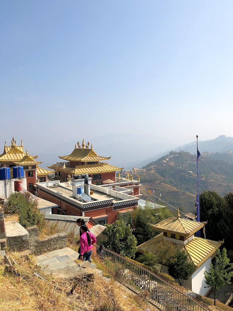 Ausblick vom Kloster Namobuddha