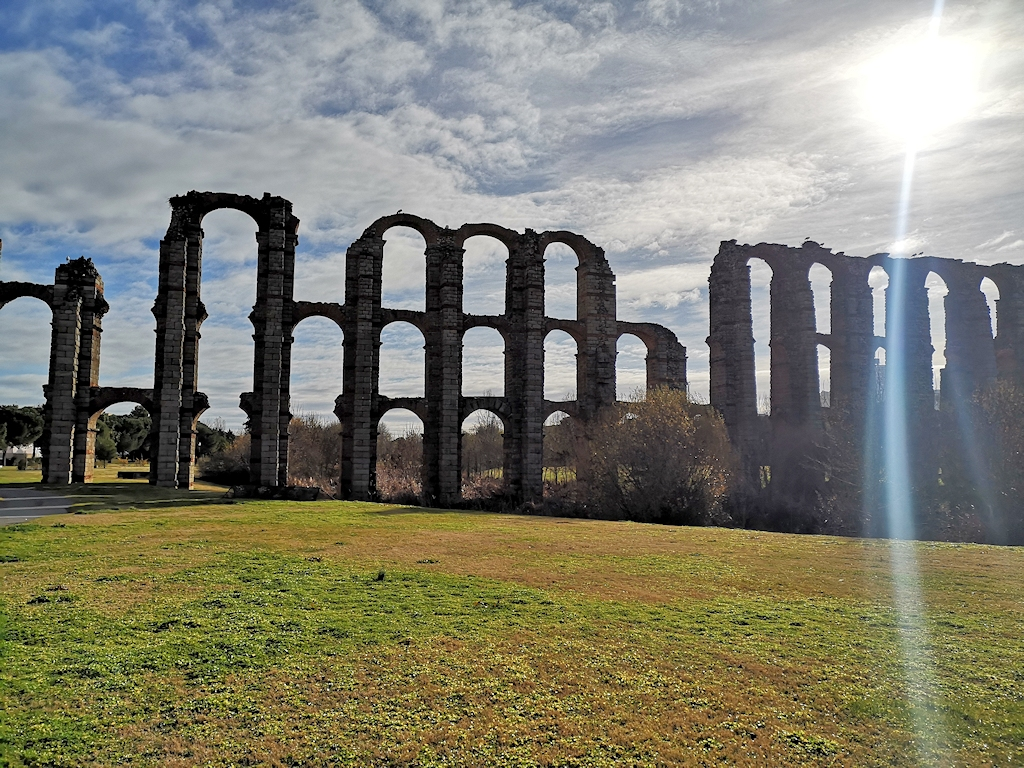 Römisches Aquädukt in Merida