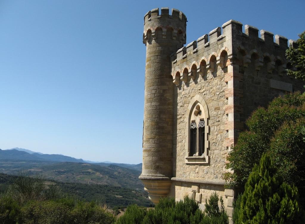 Languedoc-Roussillon - Rennes-le-Château, Magdala-Turm