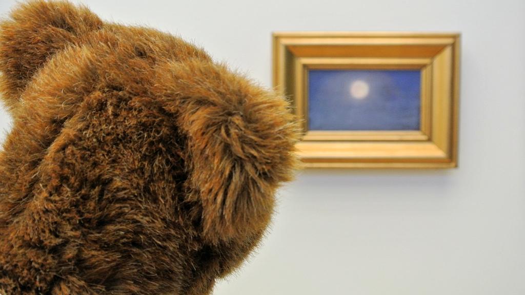 Der Urlaubär verharrt im Skagens Museum