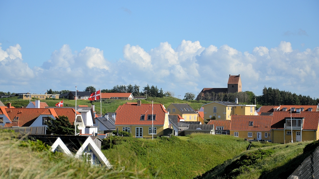Lønstrup in Nordjütland