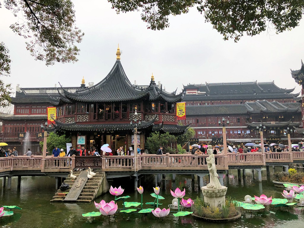 Ostasien - Garten in Shanghai