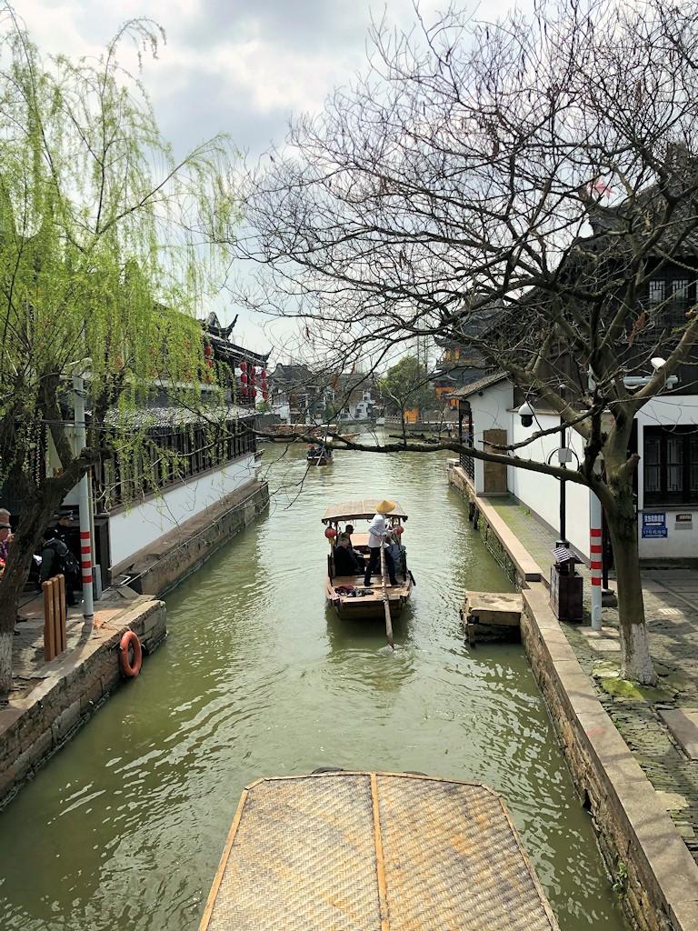 Ostasien - Im Wasserdorf Zhujiajiao