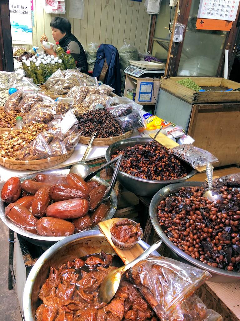 Waren in Zhujiajiao