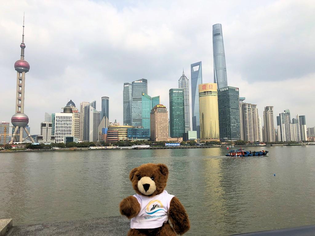"""Shanghai - An der Uferpromenade """"The Bund"""""""