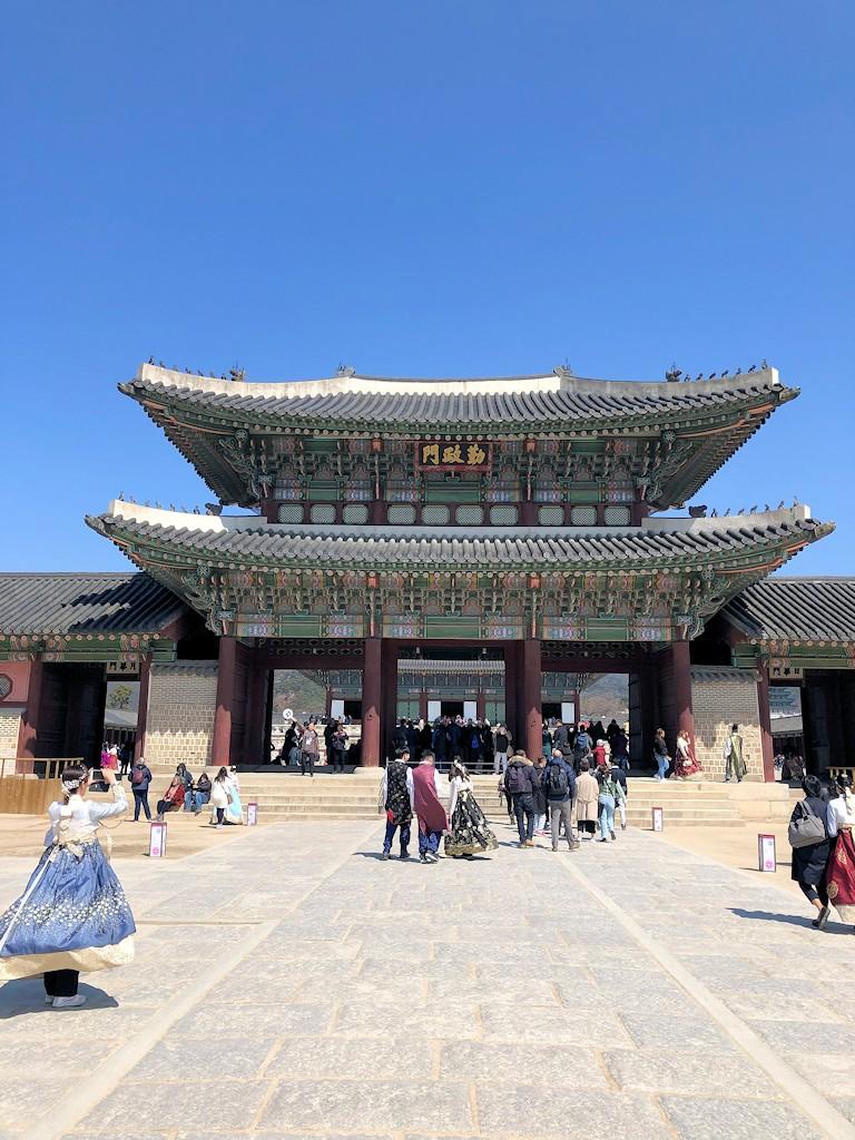 Gyeongbokgung-Palast in Seoul