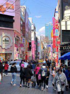 Innenstadt von Seoul