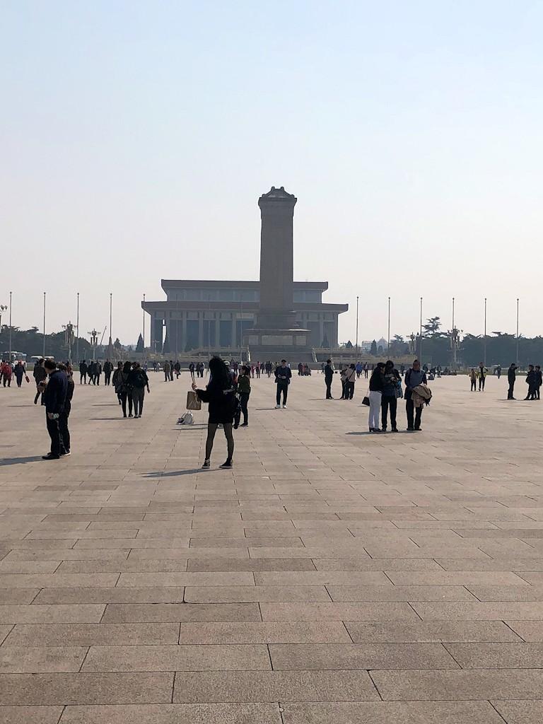 Ostasien - Auf dem Tian'anmen-Platz in Peking