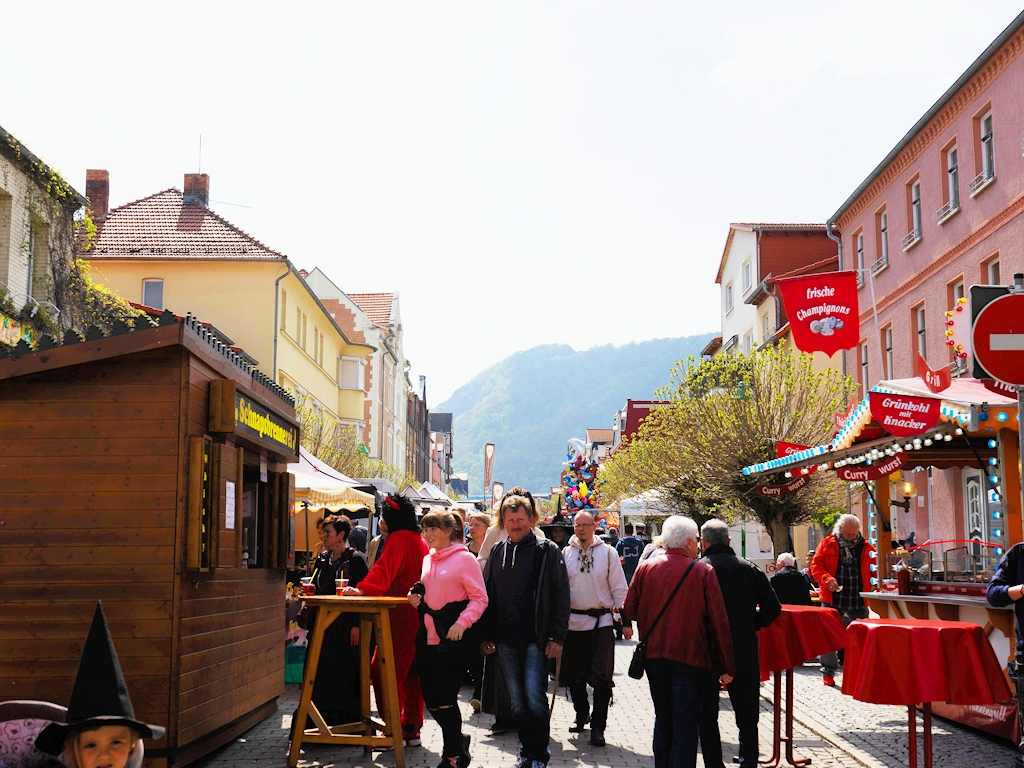 Hexenmarkt in Thale