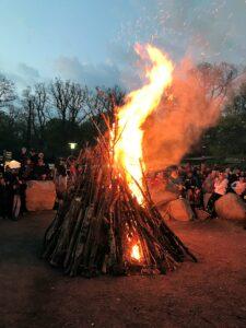 Feuer zur Walpurgisnacht
