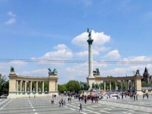Budapest Heldenplatz