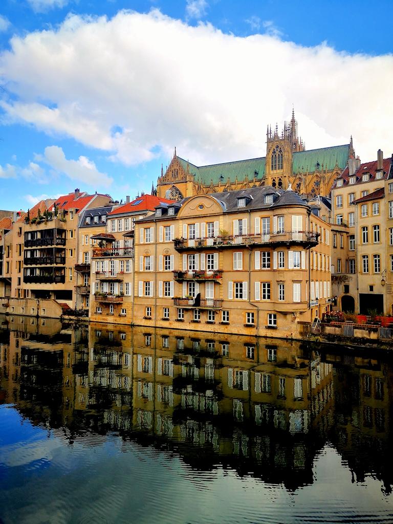 Frankreich zu Fuß - Sightseeing in Metz
