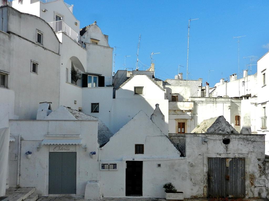 La Lama, das älteste Viertel Martina Francas