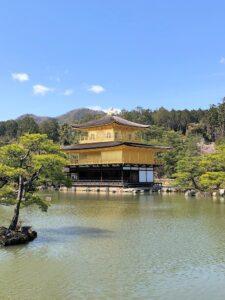 Tempel Kinkaku-ji in Kyōto