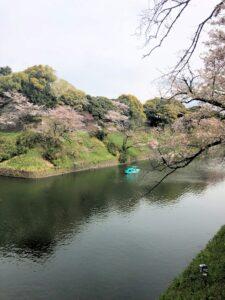 Am Palast des japanischen Kaisers