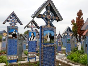 Lustiger Friedhof von Sapanta