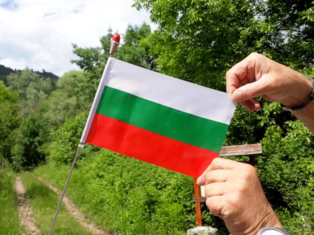Flagge von Bulgarien (nicht zu verwechseln mit den Flaggen von Ungarn und Italien!)