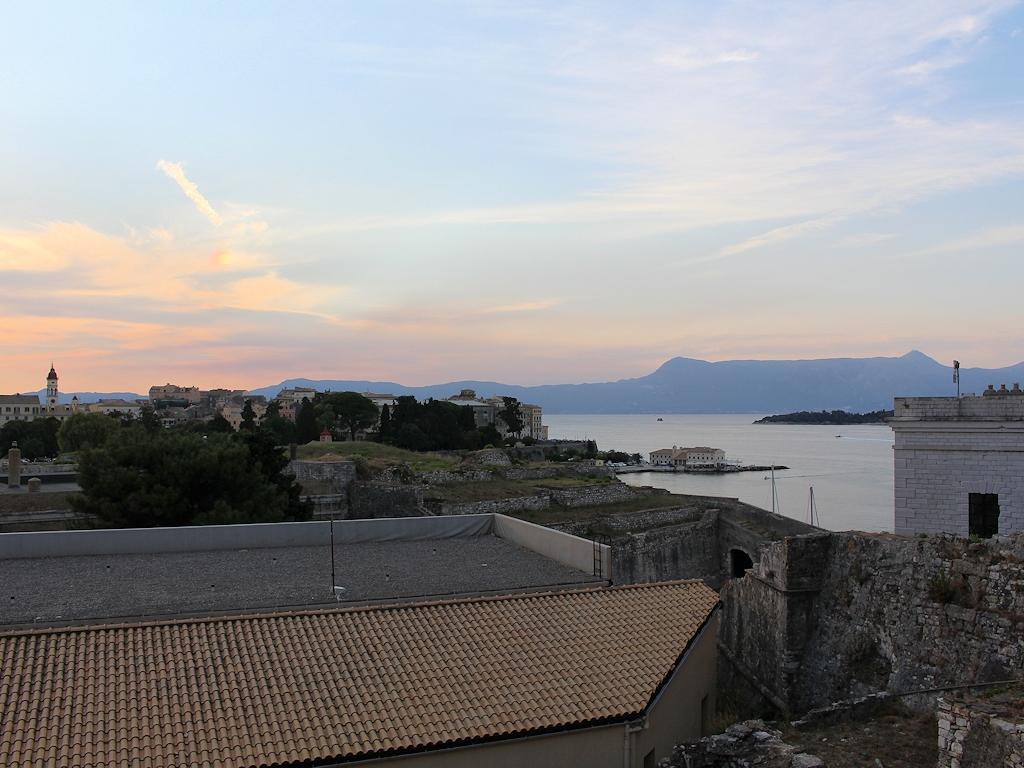 Aussicht auf die Altstadt von der alten Festung aus
