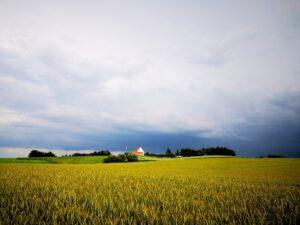 Wetterumschwung in Jütland