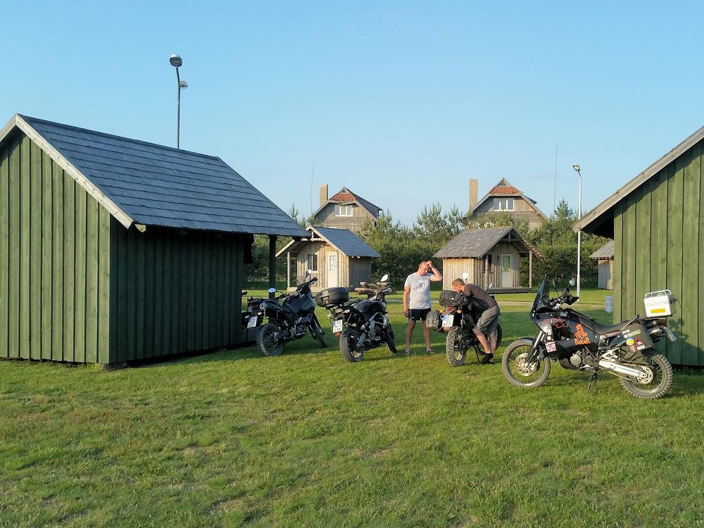 Campingplatz bei Rucava