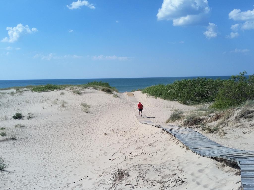 Strand im Baltikum bei Ventspils