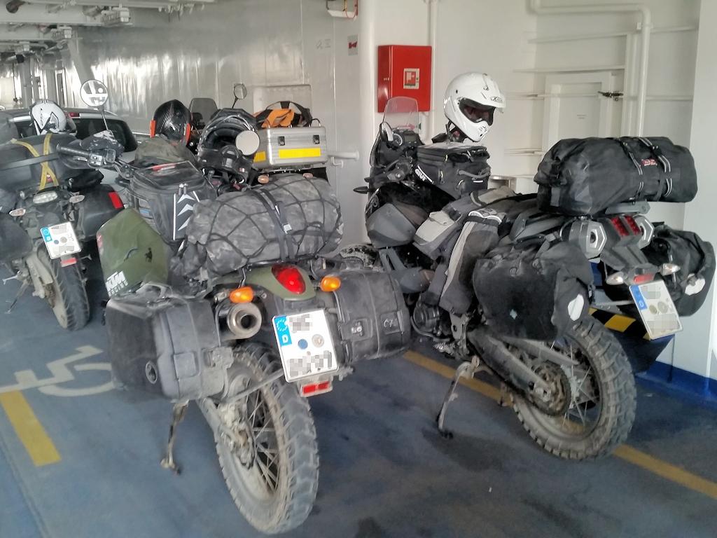 Auf der Fähre nach Saaremaa