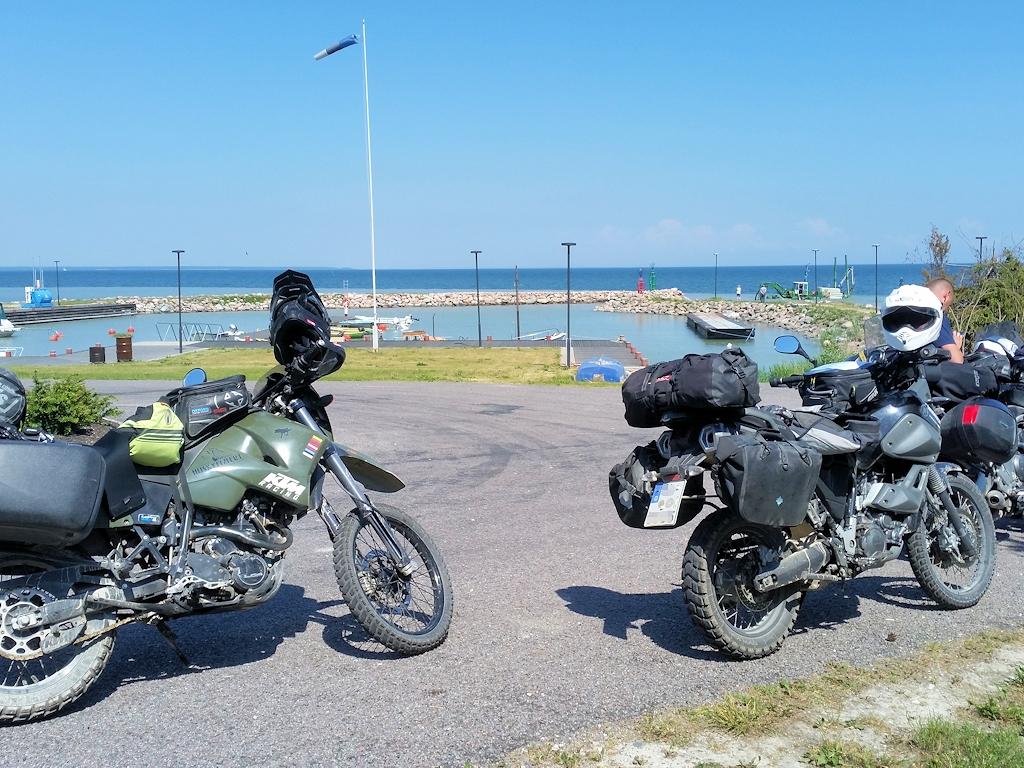 Treffpunkt im Norden von Saaremaa