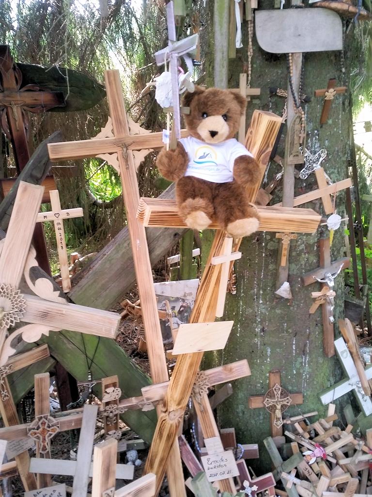 Der Urlaubär und Kreuze