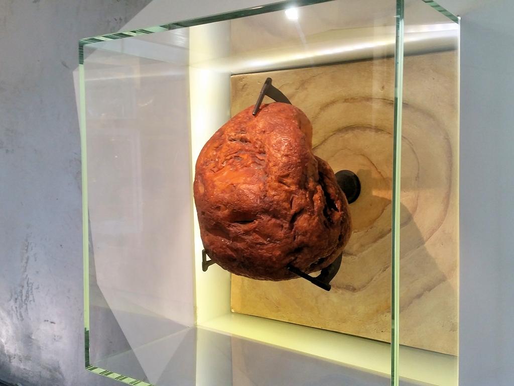 Bernsteinfund im Bersteinmuseum in Nida