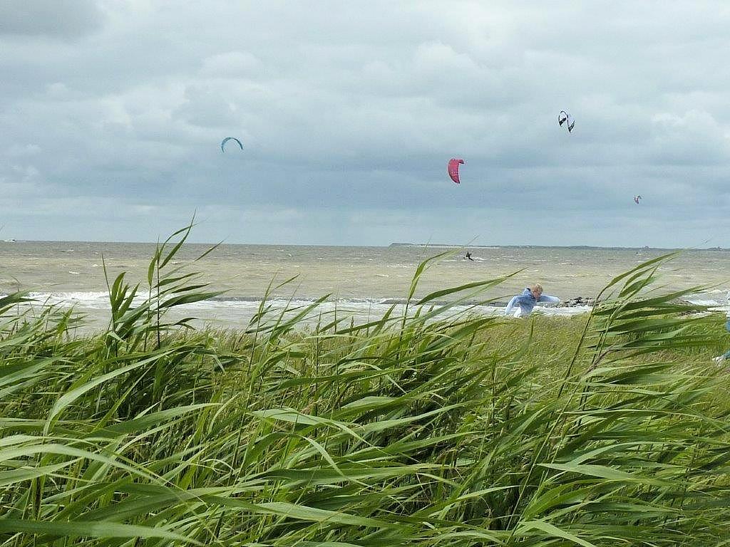 Kitesurfer vor Neuharlingersiel