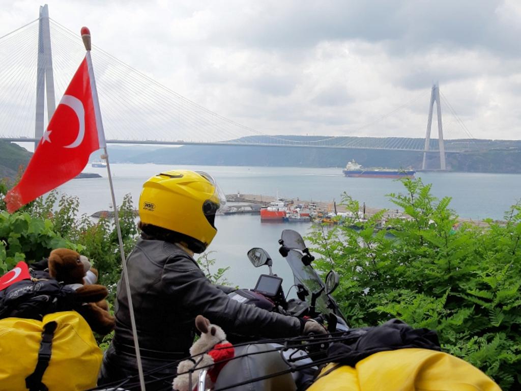 Türkei - Vor der neuen dritten Bosporusbrücke