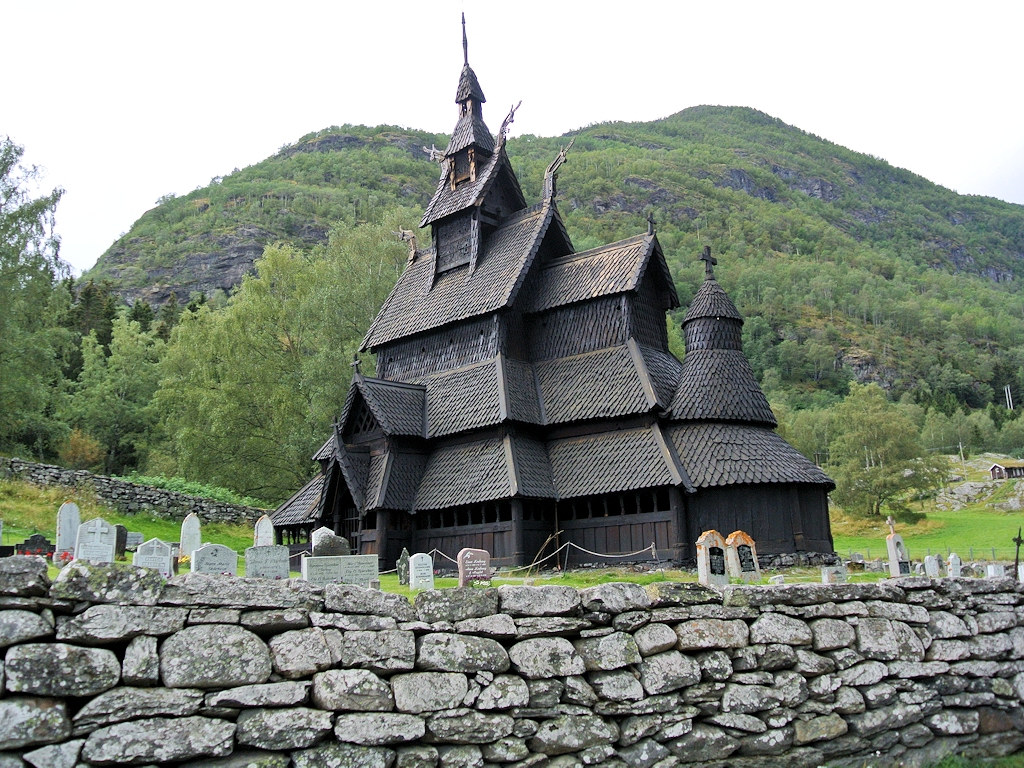 Roadtrip durch Norwegen - Stabkirche Borgund