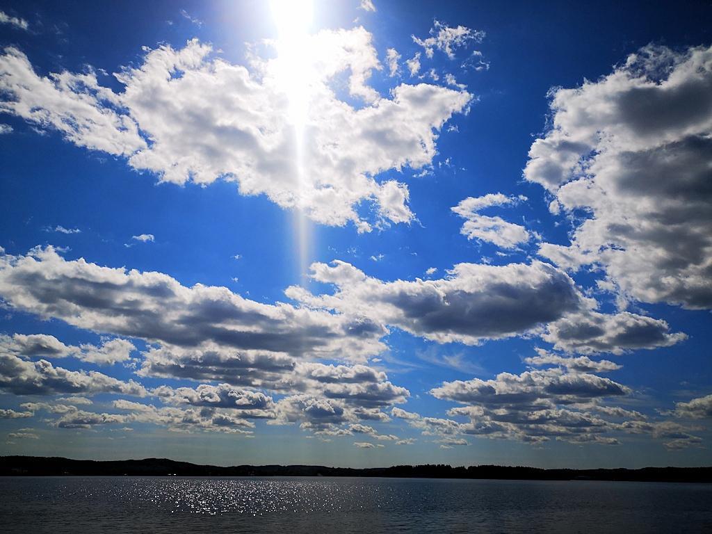 An einem See in Schweden