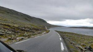 Straße auf dem Aurlandsfjellet