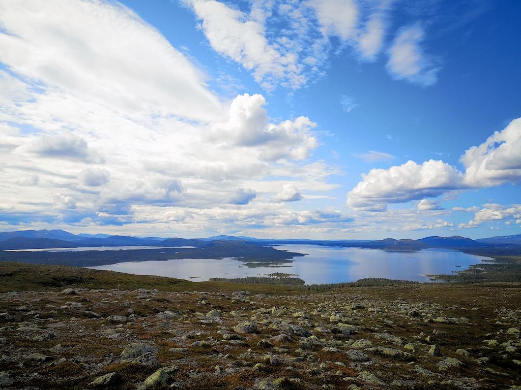 Naturreservat Rogen in der Provinz Jämtland