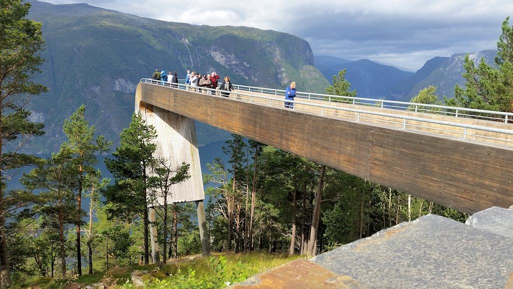 Roadtrip durch Norwegen - Aussichtspunkt Stegastein