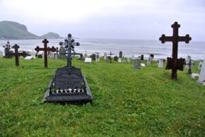 Friedhof am Atlantikstrand