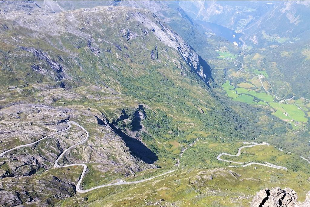 Roadtrip durch Norwegen - Straße zum Dalsnibba
