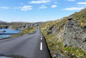 Straße durch das Sognefjellet