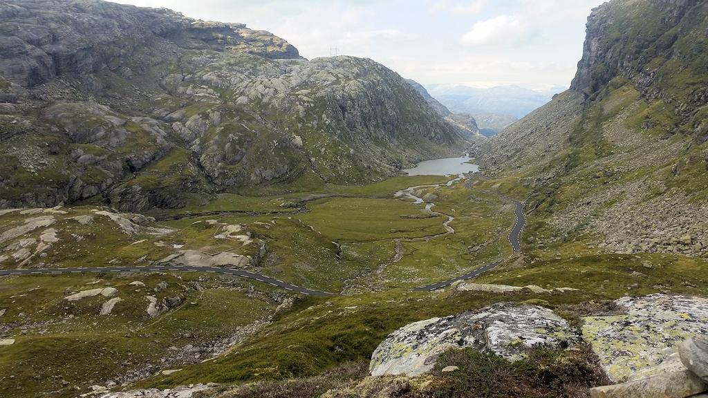 Roadtrip durch Norwegen - Straße über das Røldalsfjellet