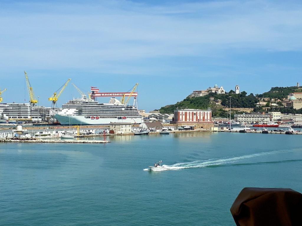 Ankunft in Ancona