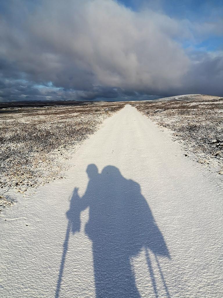 Der erste Schnee: Es wird Winter im Norden