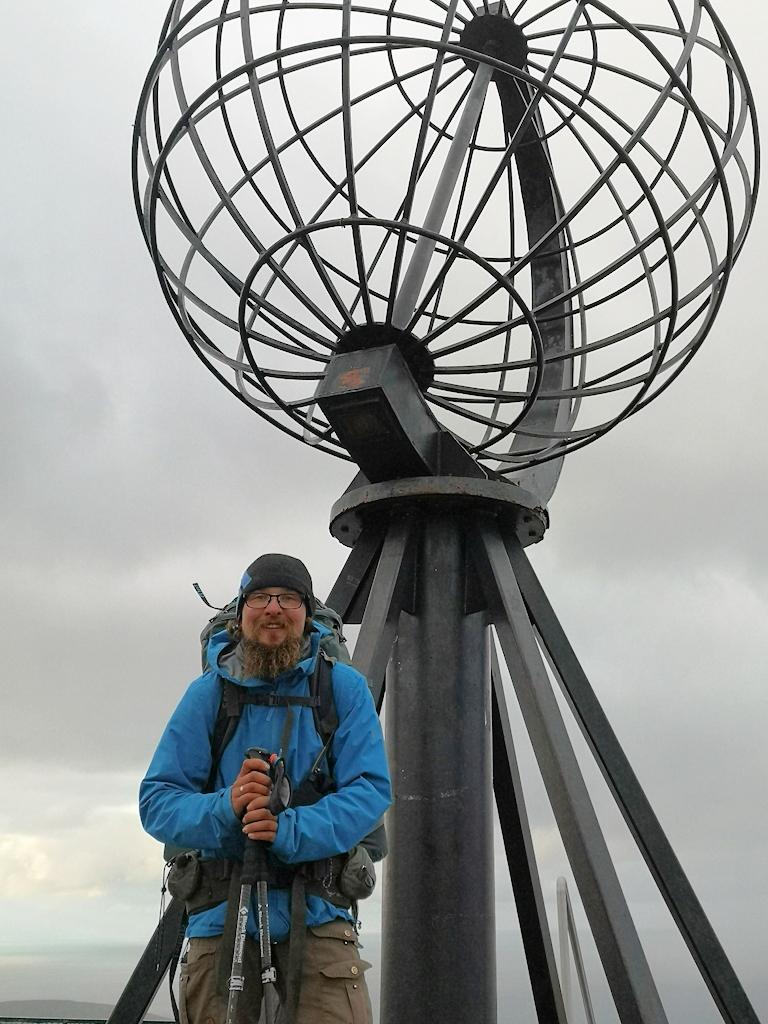 Am Ziel: Das Nordkap!