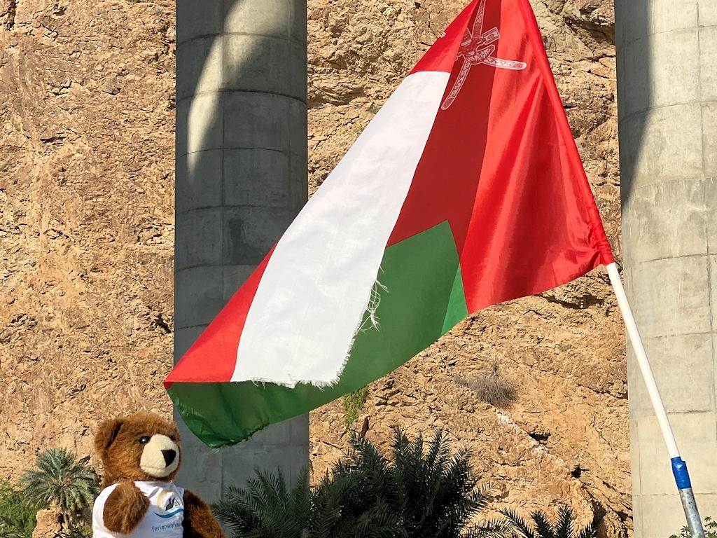 Urlaubär im Oman