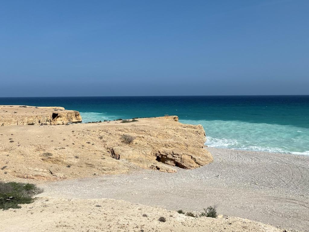Am Meer im Oman