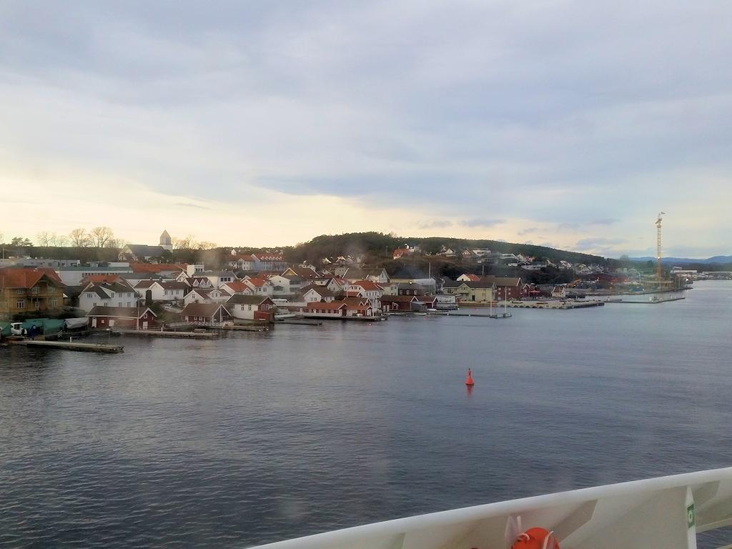 Ankunft in Langesund