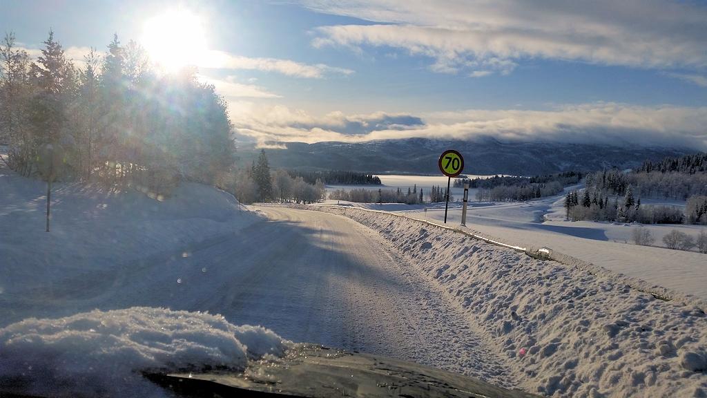 Roadtrip zum Polarkreis - Auf der E6 in Richtung Süden