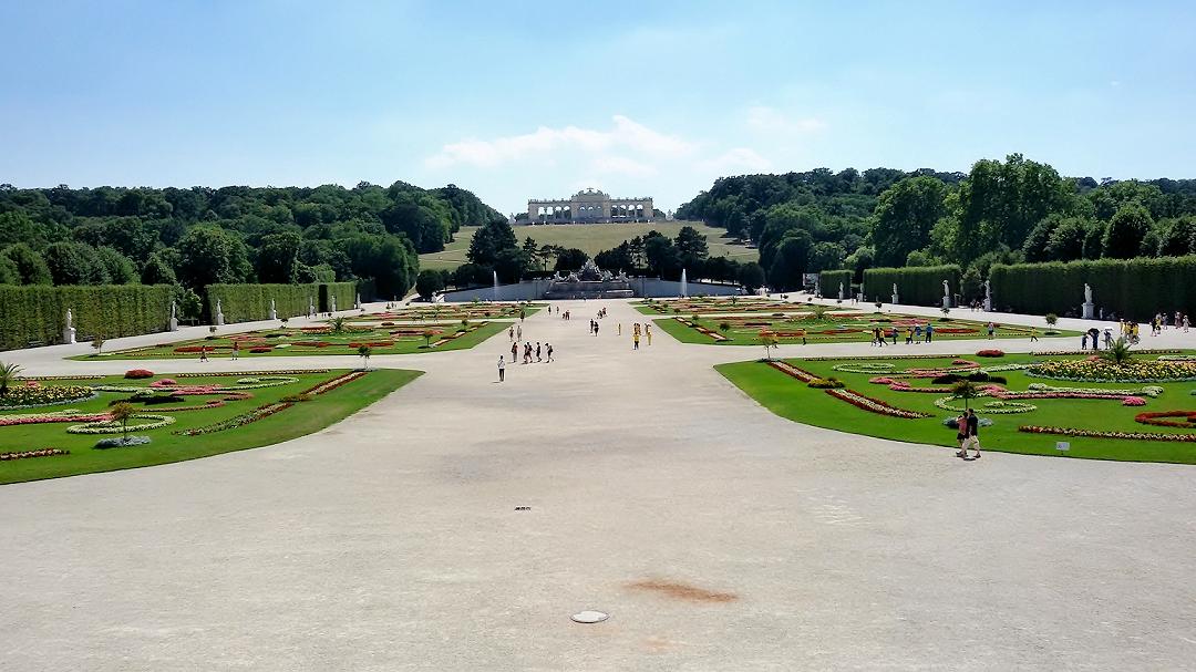 Fahrrad-Weltreise Teil 1 - Wien: Schloss Schönbrunn