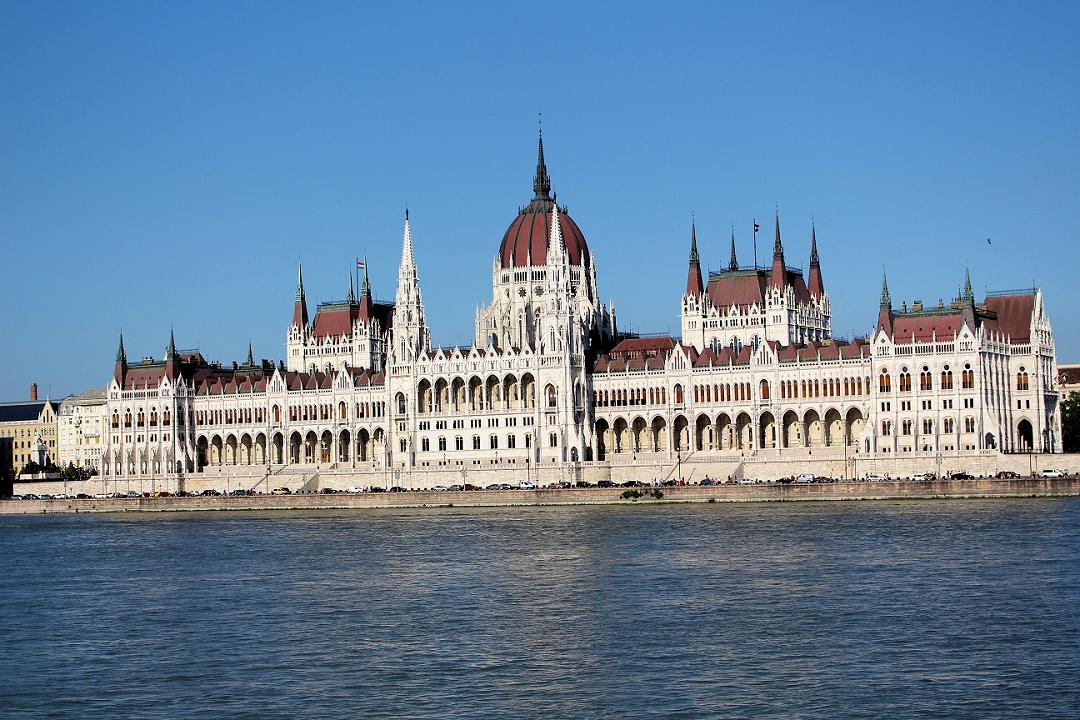 Budapest: Parlamentsgebäude